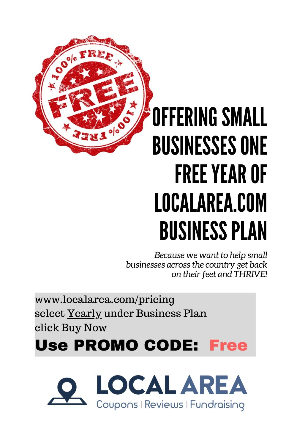 One Free Year Subscription In 2020 Local Coupons How To Plan Business Planning