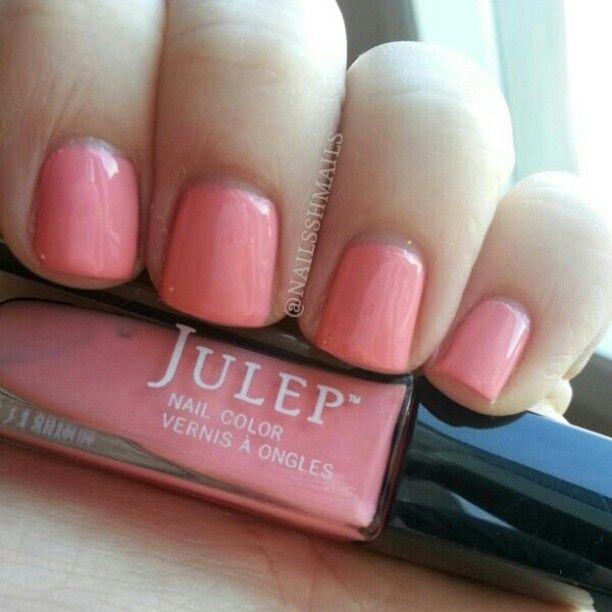 @nailsshmails-#statigram  Julep Minnie - Pretty Pastel Pink