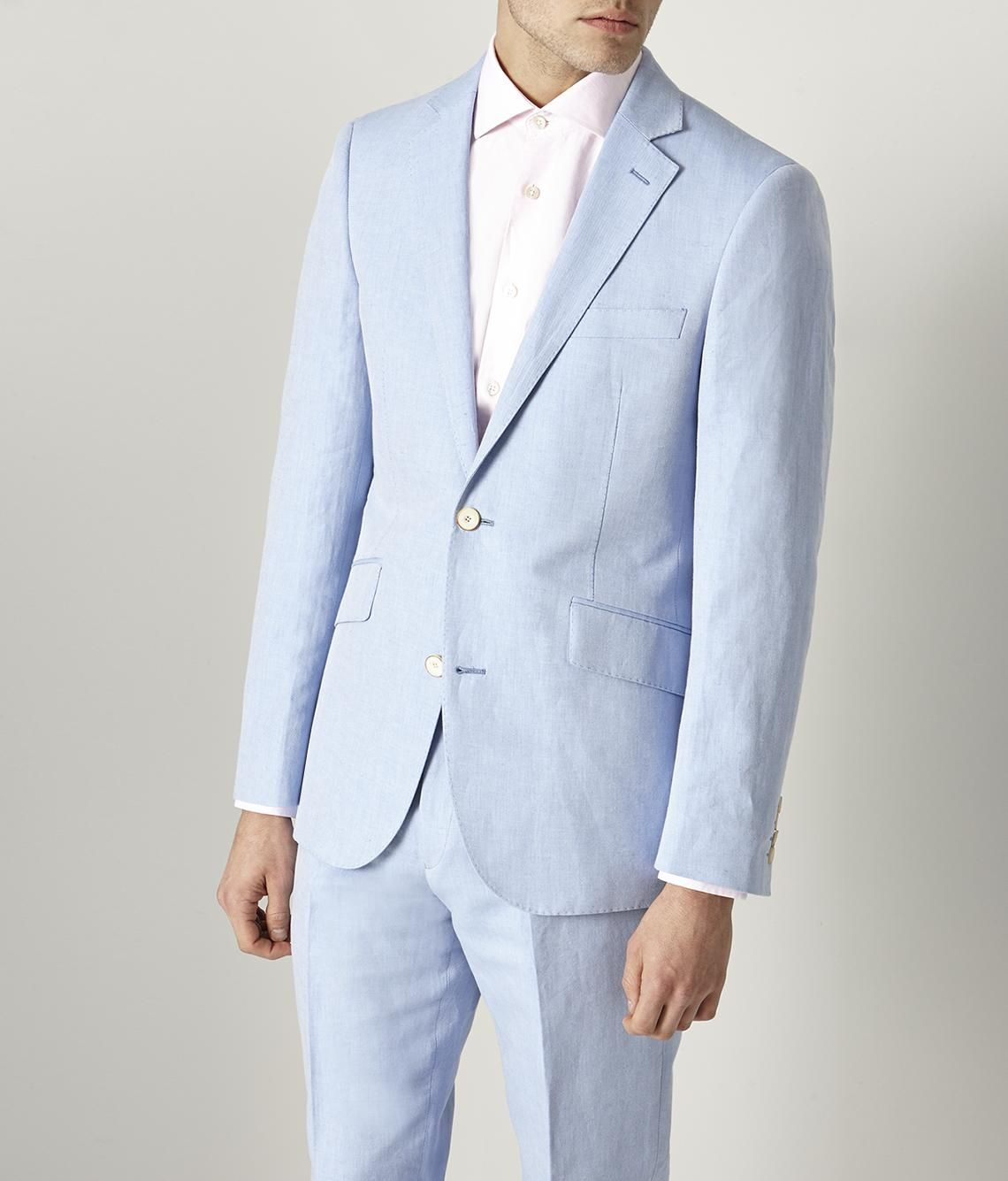 Nice Suit From Austin Reed Only 159 Http Www Austinreed Com Sb2 Light Blue Linen Cotton Twill Suit Bamms50064 1 Suits Cool Suits Cotton Suit