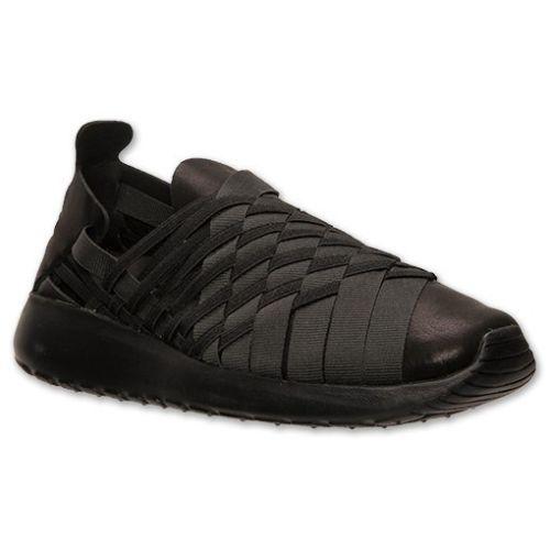 0a621c643e9a7 641220-005) Women s Nike Roshe Run Woven 2.0 Black Anthracite Black ...