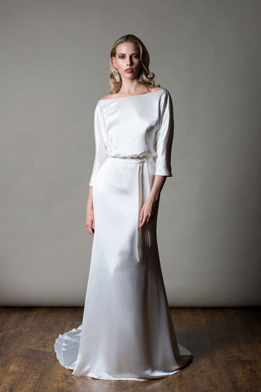 Gli abiti da sposa più belli del 2019 London Bridal Week - MiaMia 47697e26e5f