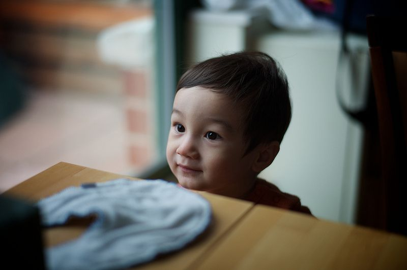 La sencilla vida de un niño.Foto realizada por el usuario Lyle Vincent.