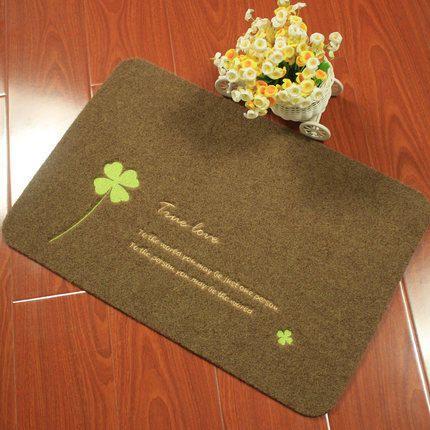 Creative Design Ultra Thin Doormat Absorbent Mats Mat For Bathroom Entranceway Slip Resistant Mats Home Textile Creative Design Door Mat
