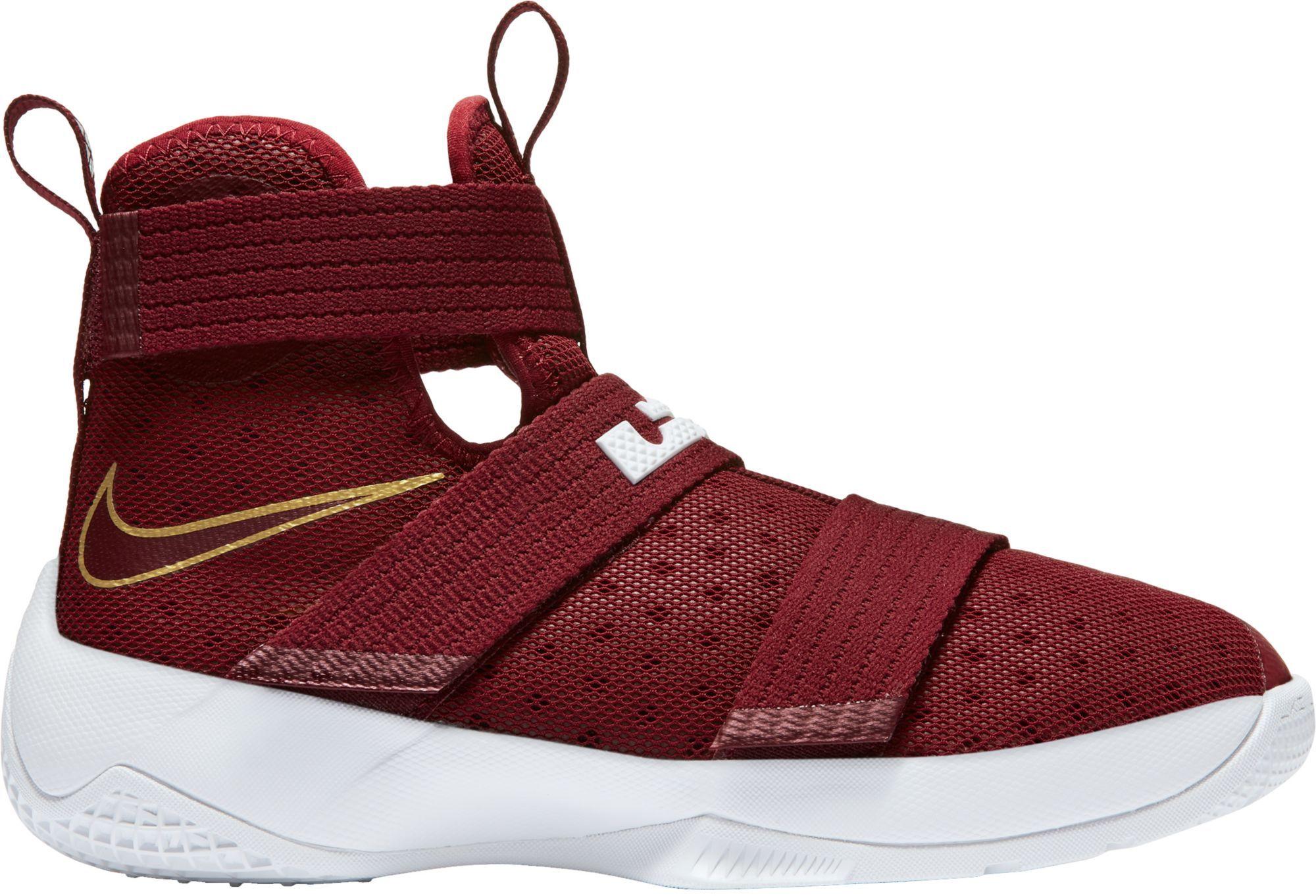 b20c5539181 Nike Kids  Grade School Zoom LeBron Soldier X Basketball Shoes