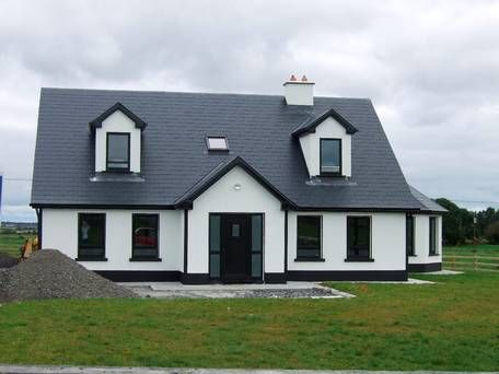 Modern chalet bungalow ireland google search call it for Dormer bungalow house plans ireland