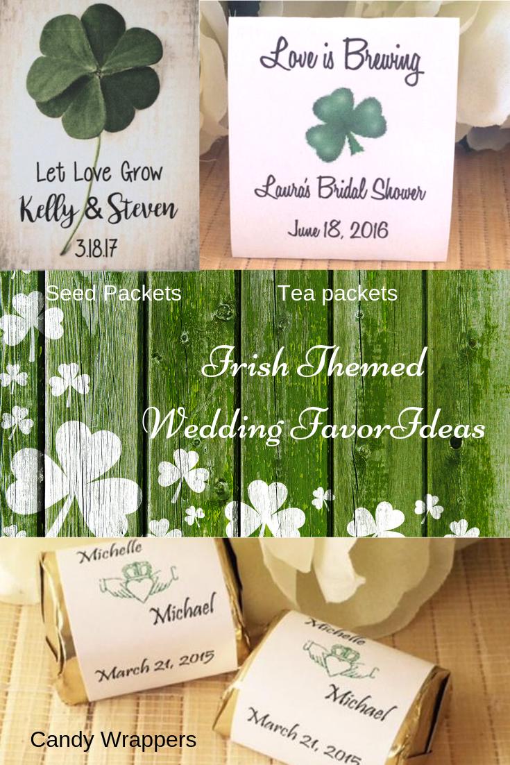 Having An Irish Wedding And Need Ideas For Favors We Have You Covered Shamrock Wedding I Irish Wedding Favors Wedding Gift Favors Personalized Wedding Favors