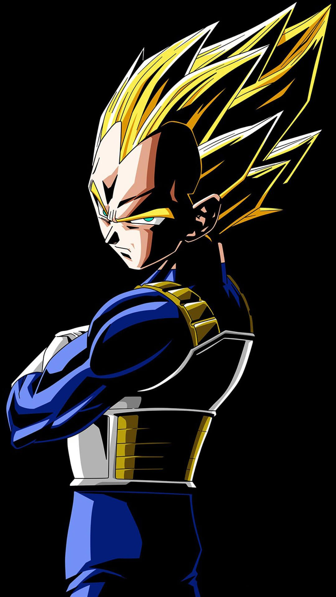 1080x1920 Dragon Ball Z Vegeta Iphone Wallpaper