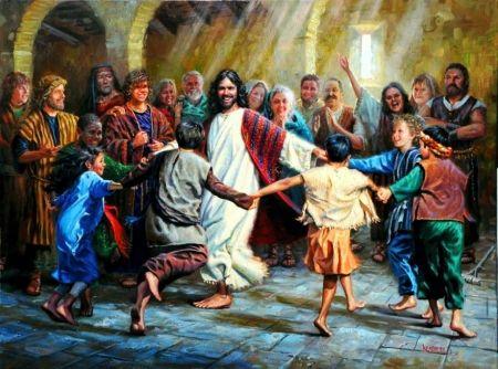 Dance Of Grace People Dancing Jesus Light Artwork Painting Jesus Painting Jesus Pictures Jesus Images