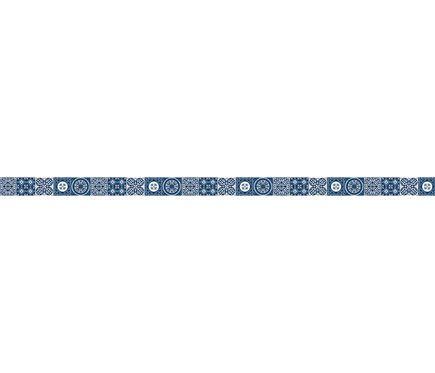Cenefa De Vinilo Azulejos Azul Leroy Merlin Deco Vinilo