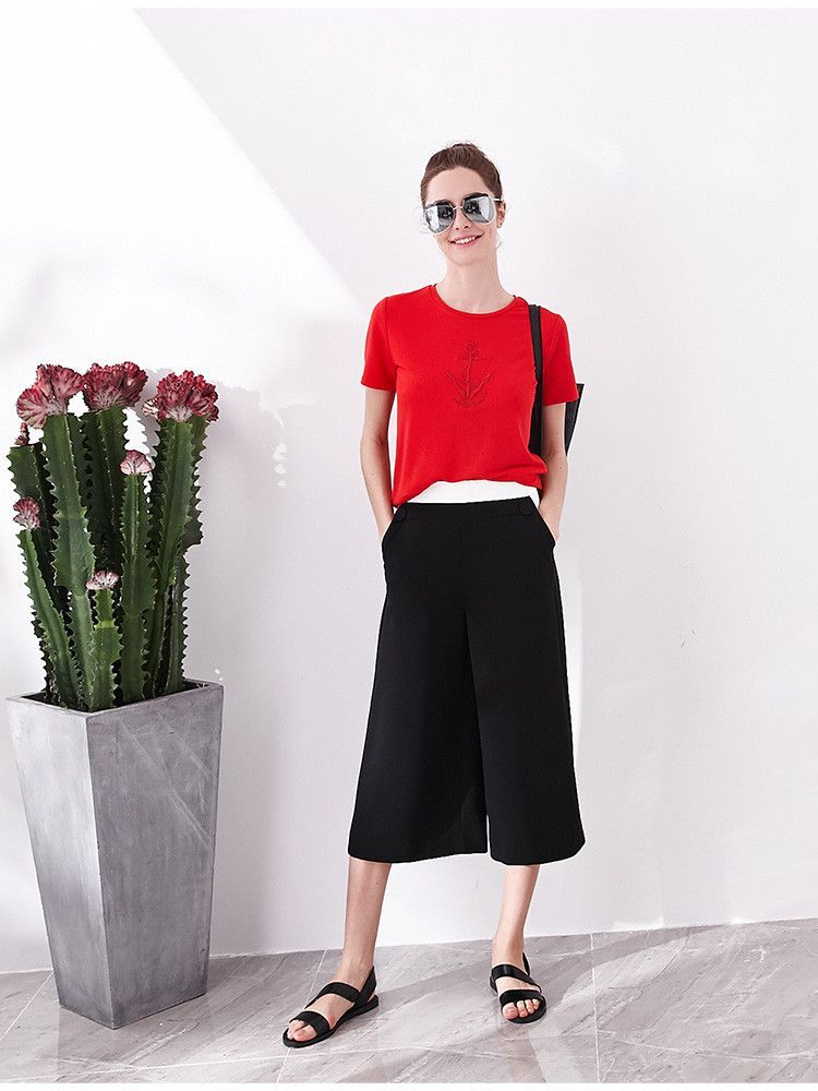 Loose Wide-Leg Pants PA0403