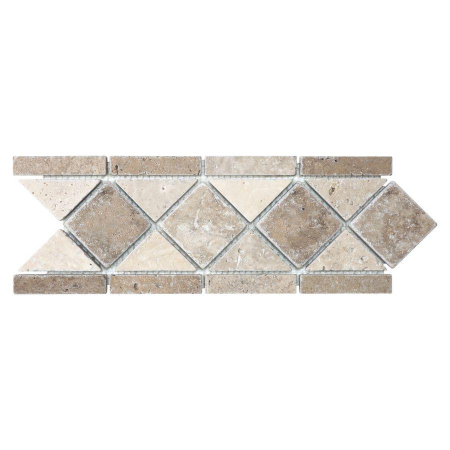 Chiaro Tile Backsplash: Anatolia Tile Noce And Chiaro Travertine Travertine