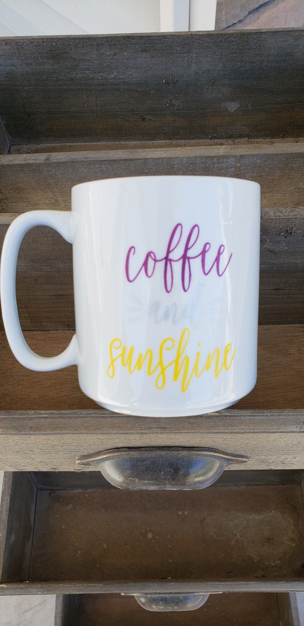Coffee And Sunshine Created With Chalk Couture
