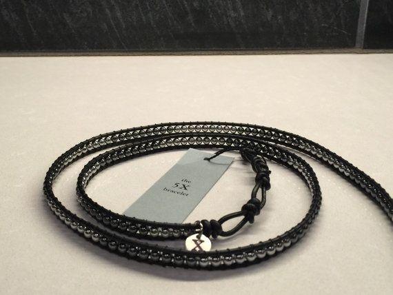5X Wrap Bracelet van XbyMX op Etsy
