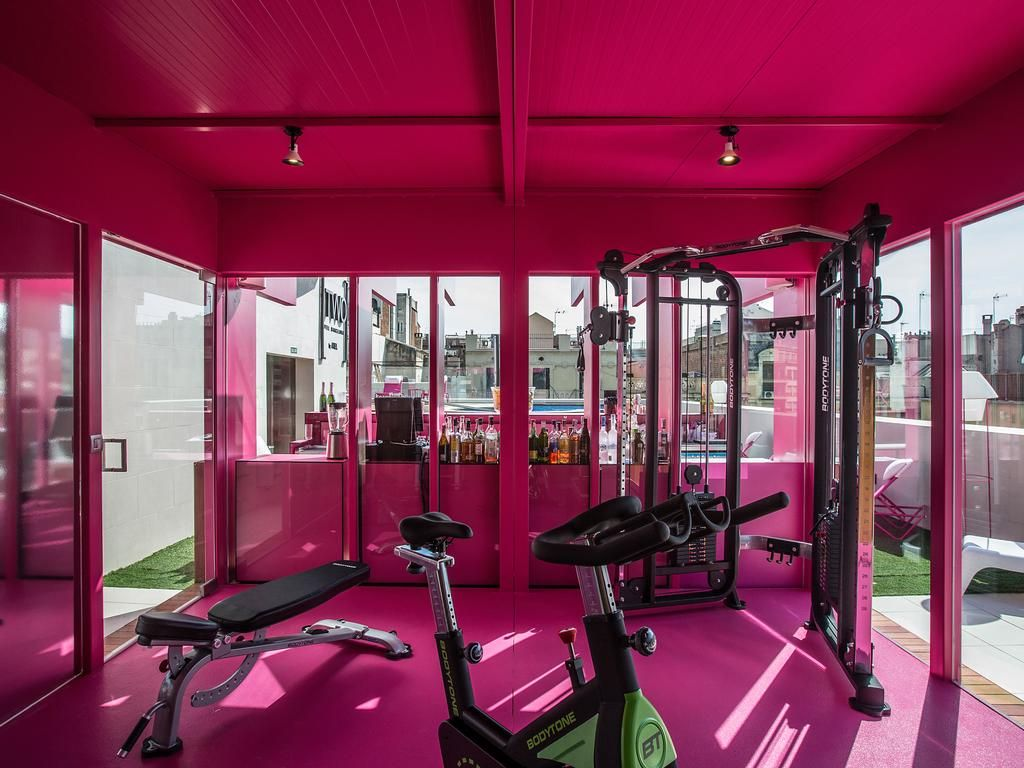 design trends private gym style two hotel barcelona by axel - Barcelona Home Trends And Designs