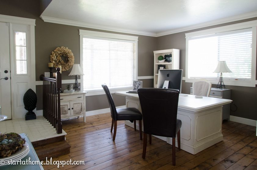 Dining Room Turned Office Before And After Dining Room Turned Office Dining Room Office Dining Room Makeover