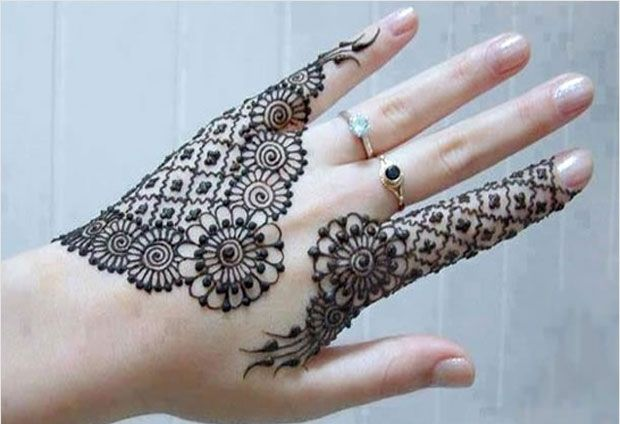 Mehndi Designs Patterns Ideas : Creative mehndi designs in circles ideas fashion