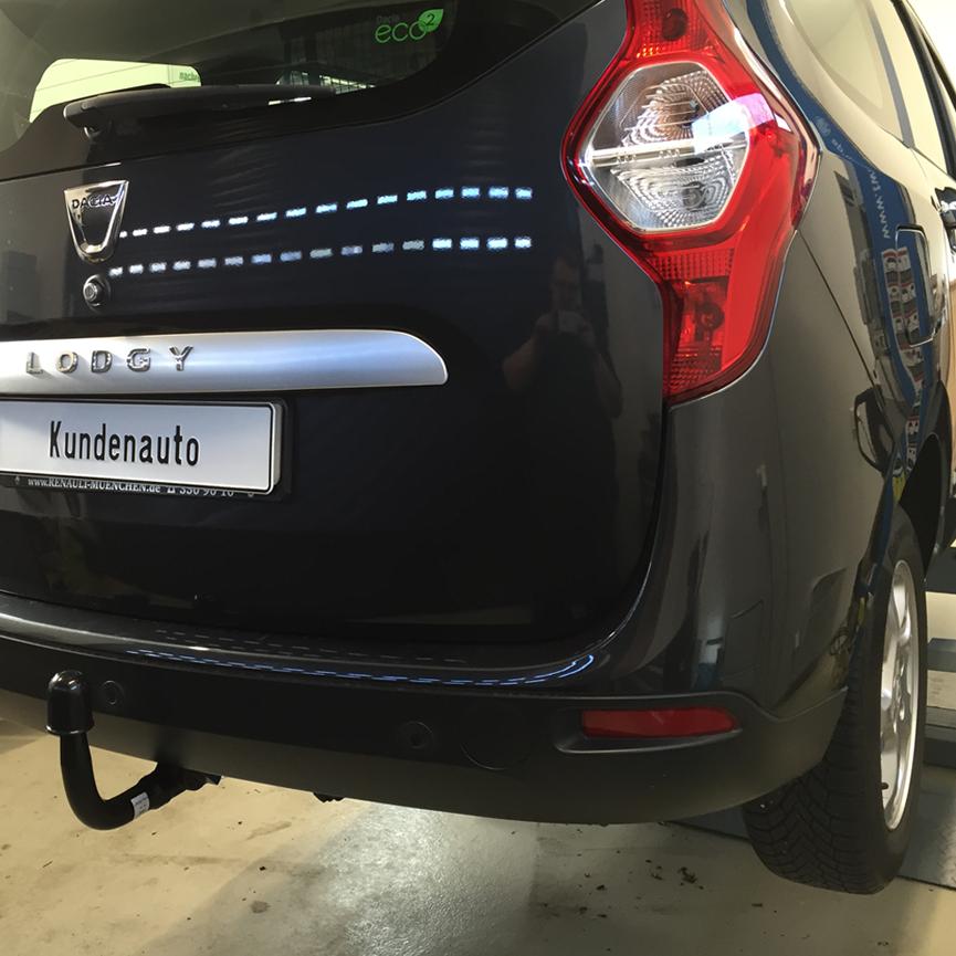 Dacia Lodgy Mit Anhängerkupplung