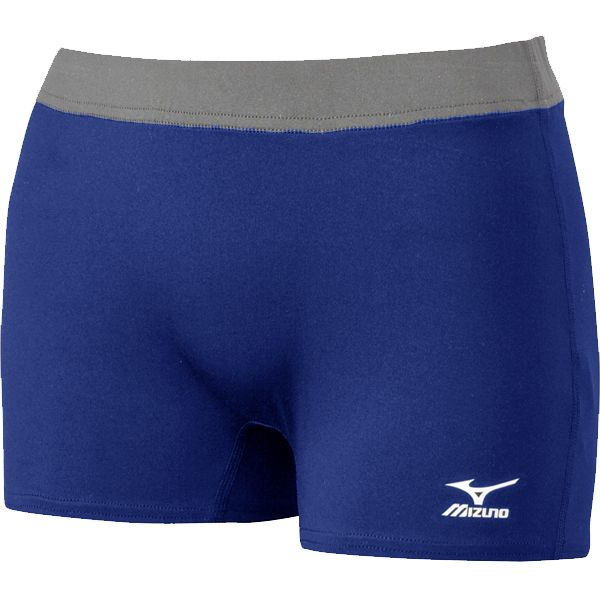 What S New Mizuno Women S 440404 Flat Front G2 2 5 Womens Shorts Gym Shorts Womens Volleyball Shorts