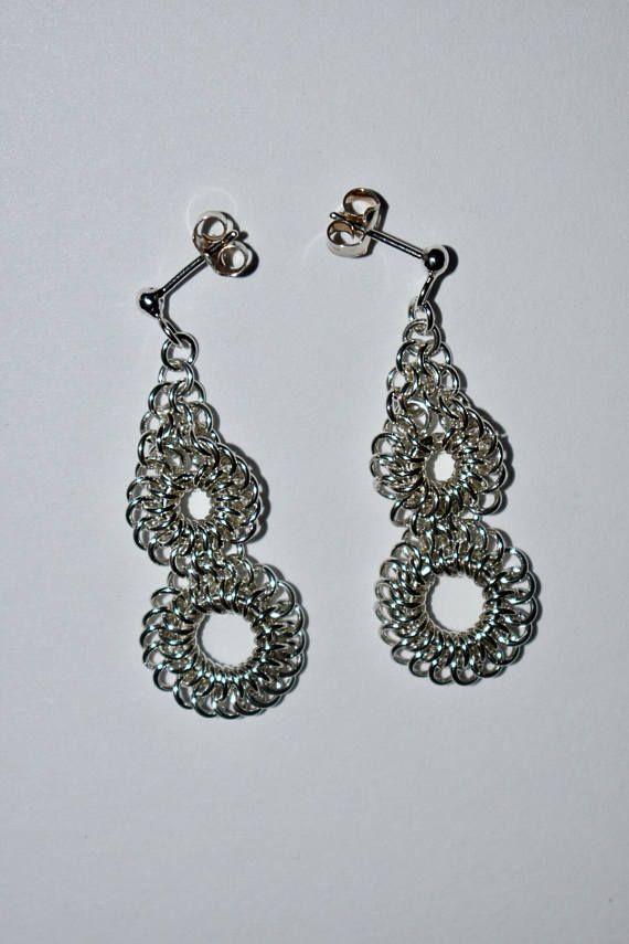 Sterling silver chandelier earrings silver earrings my jewelry sterling silver chandelier earrings silver earrings aloadofball Choice Image