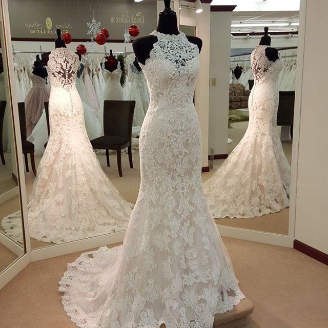 reizend Juwel appliques Etuikleid Hochzeit   Kleider ...