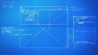 Stock footage graphic design layout process time lapse blueprint stock footage graphic design layout process time lapse blueprint license and download using the malvernweather Image collections