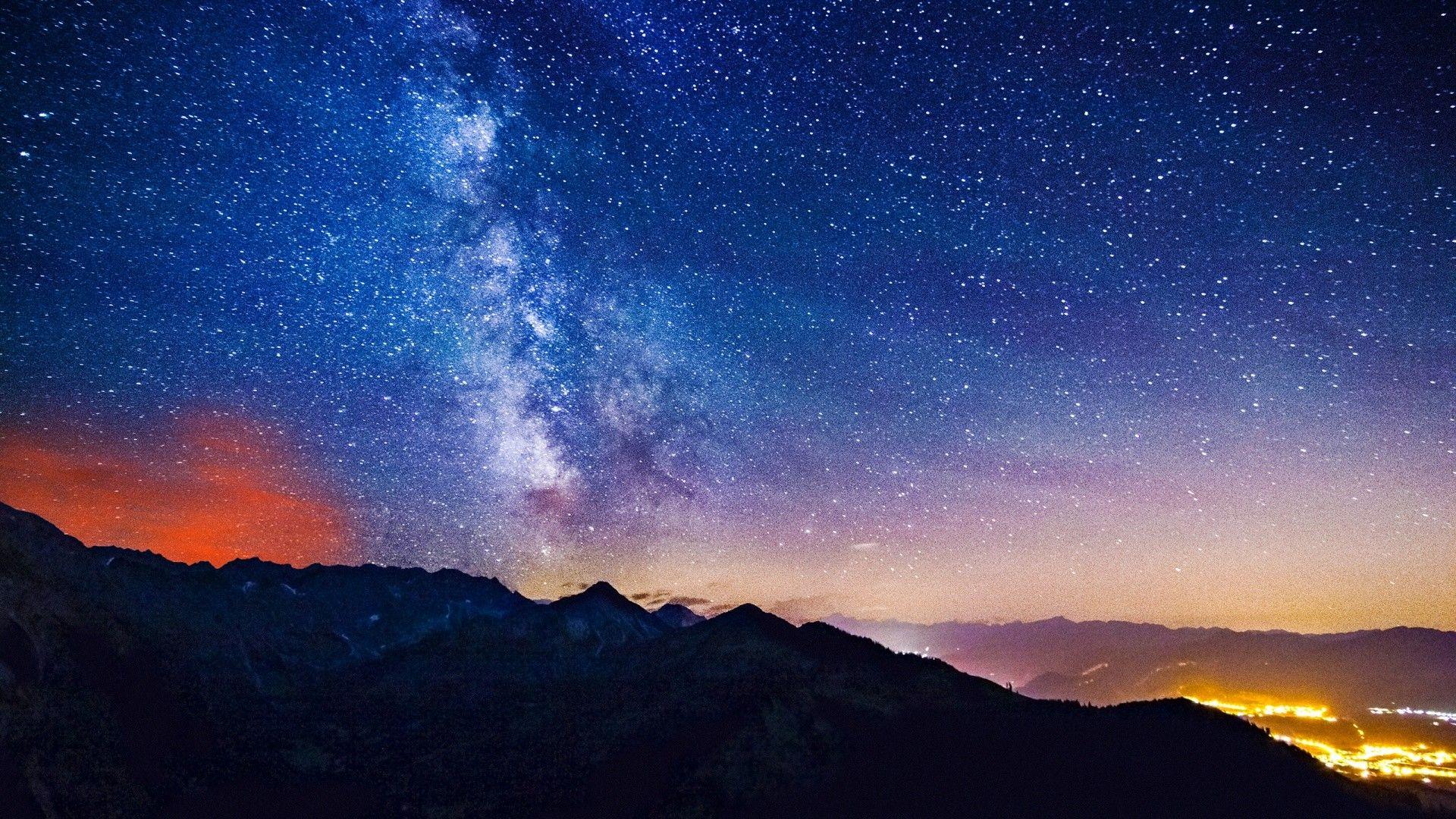 1920x1080 Milky Way Wallpaper Hd 28616 Night Sky Wallpaper Stars Wallpapers Milky Way Wallpaper