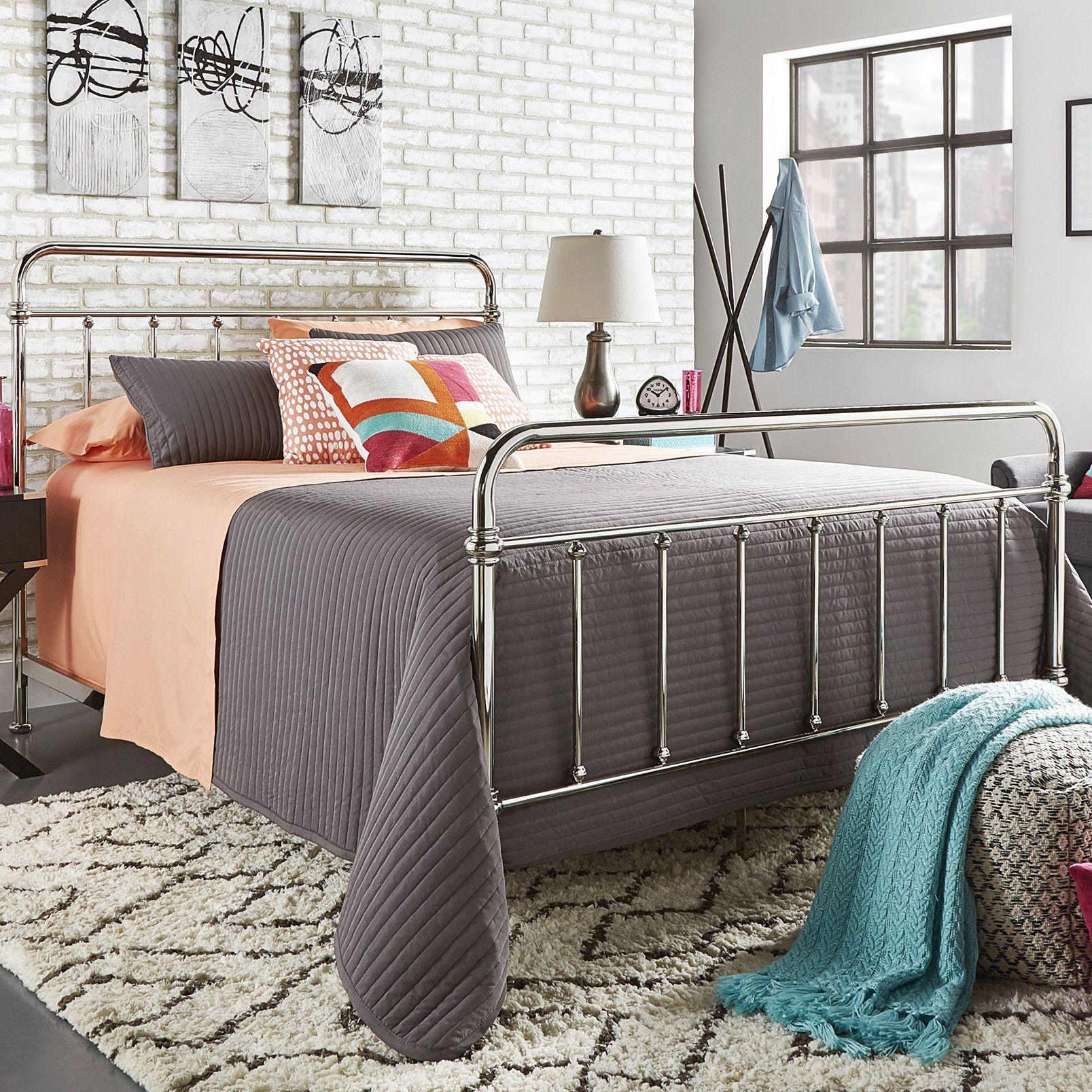 Rainer Standard Bed Bed, Panel bed, Metal beds