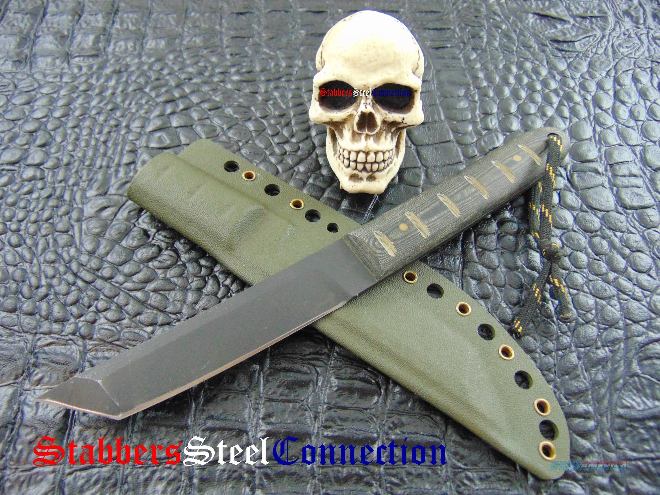 Newt Livesay Knives Uji Tanto Fighter 1095 High For Sale Knife Best Pocket Knife Tactical Pocket Knife
