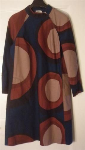 One Of The More Rare Color Combinations On This Well Known Vintage Marimekko Dress Ebay