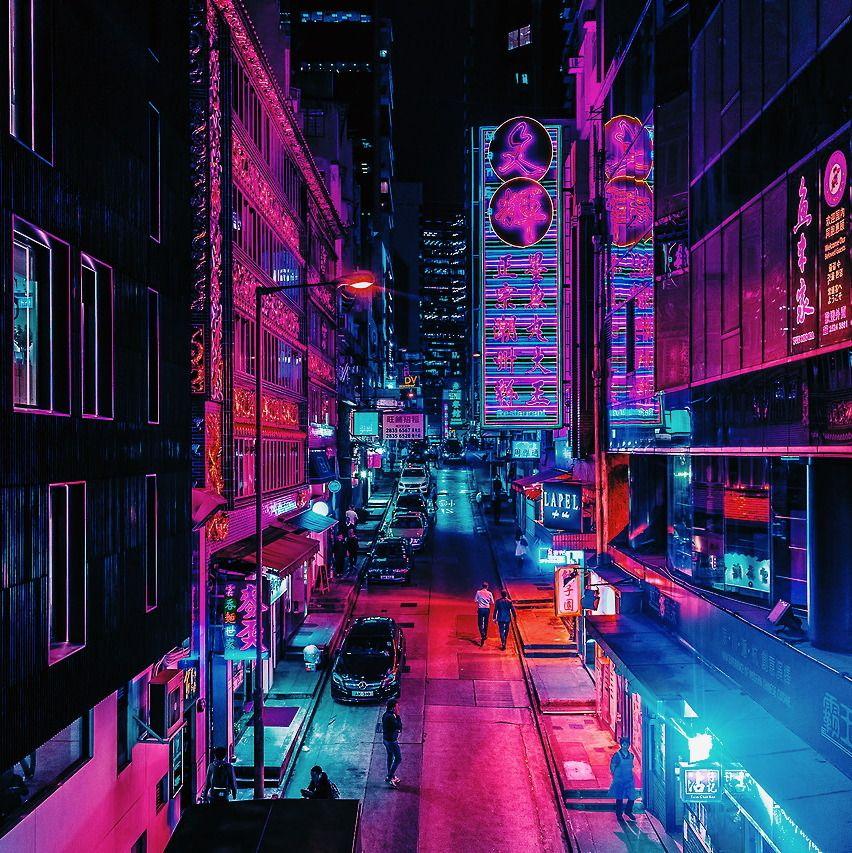 Neon Noir, Neon Wallpaper, Neon