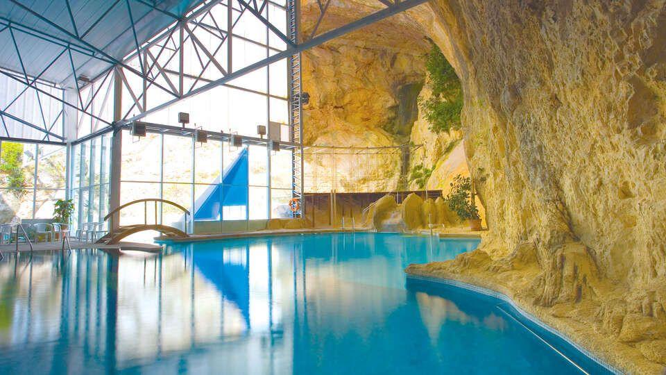 Hotel Balneario Sicilia Buffet De Ensaladas Piscina Interior Escapadas Fin De Semana