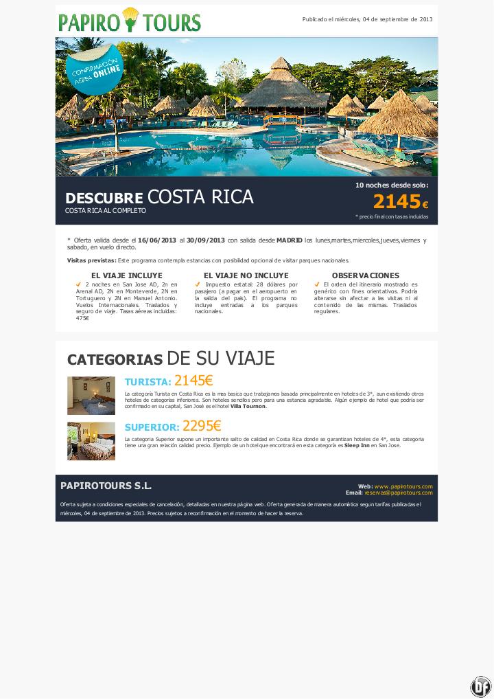 Costa Rica 11 días programa Costa Rica Al Completo desde 2145€ precio final - http://zocotours.com/costa-rica-11-dias-programa-costa-rica-al-completo-desde-2145e-precio-final/