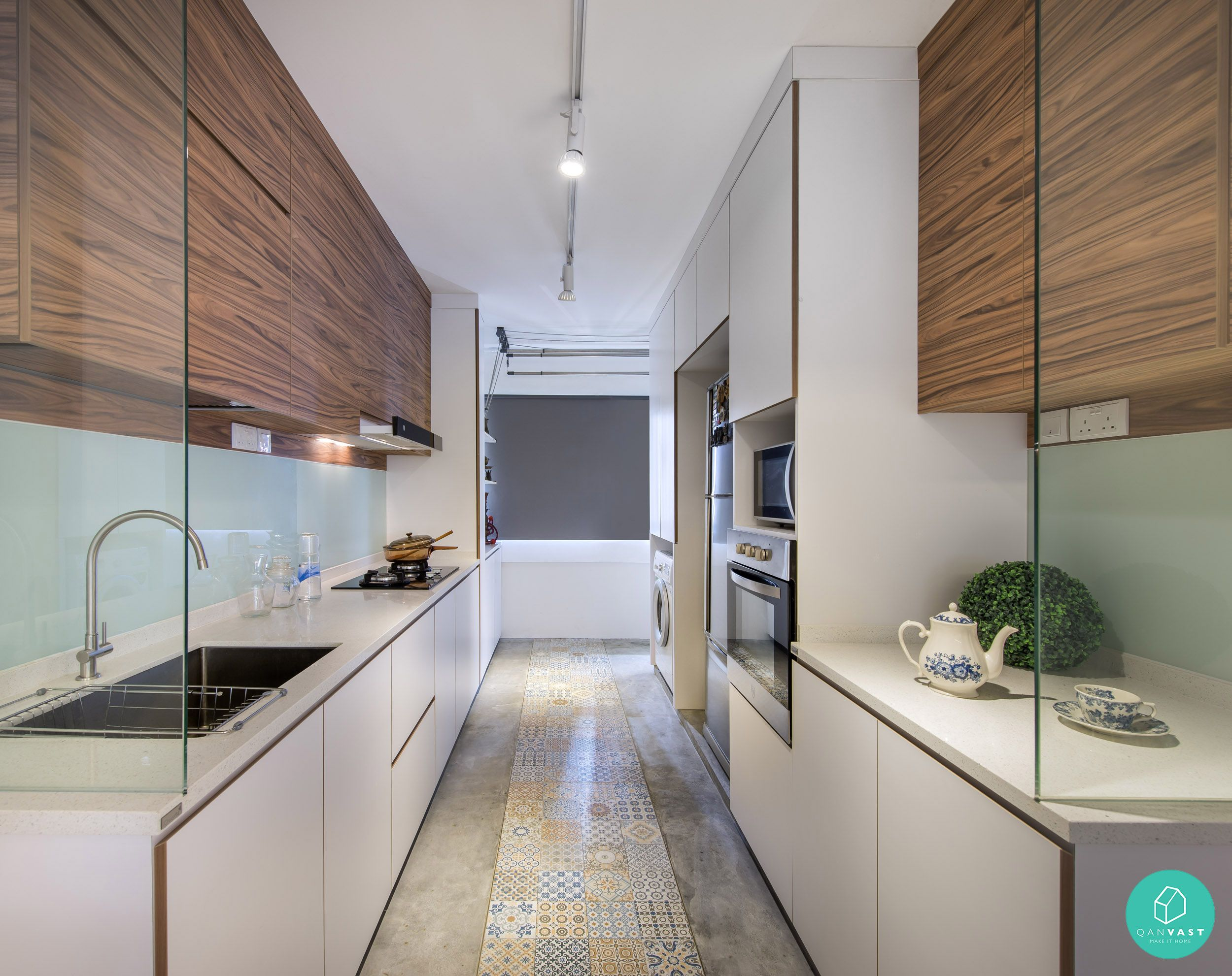Kitchen Island Hdb Flat scandustrial theme - 6 homes that achieved this look | kitchens