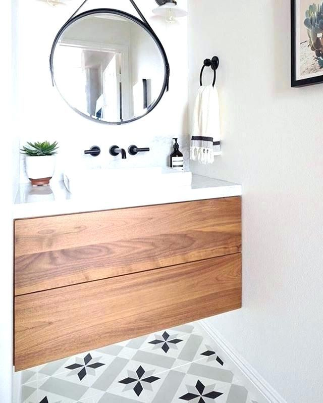 Powder Room Vanity Sink Vanities Small Floating Vanity