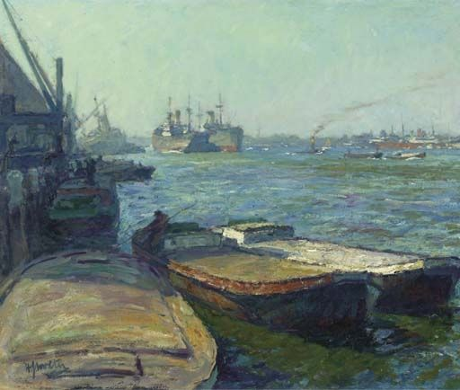 The Caulking Of Ships At The Bothuisje On The Ij In