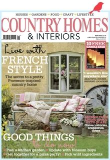 Part Of Free Goodie Bag At Creative Country Business A 3 Month Subscription To Country Homes