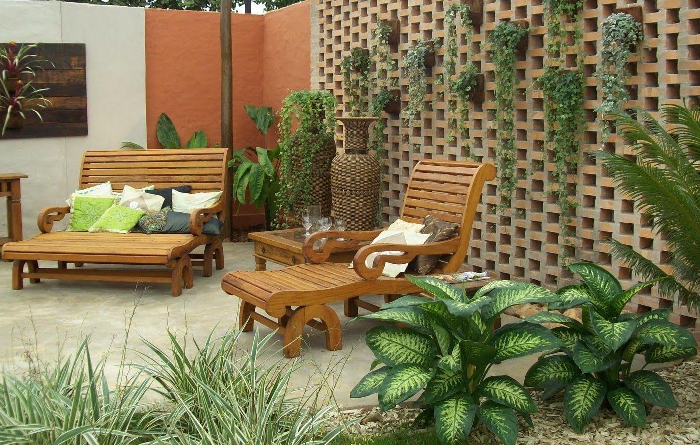 Como fazer um jardim externo na casa room en 2019 backyard landscaping outdoor decor y Jardines rusticos pequenos
