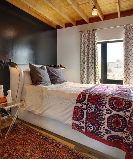 love the bedframe and throw