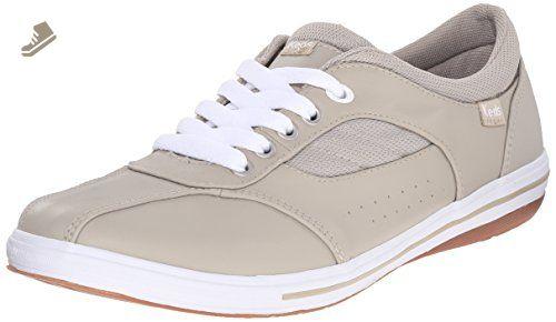 7c9b89abba832 Keds Women's Prestige Fashion Sneaker, Stone Leather, 8.5 M US ...