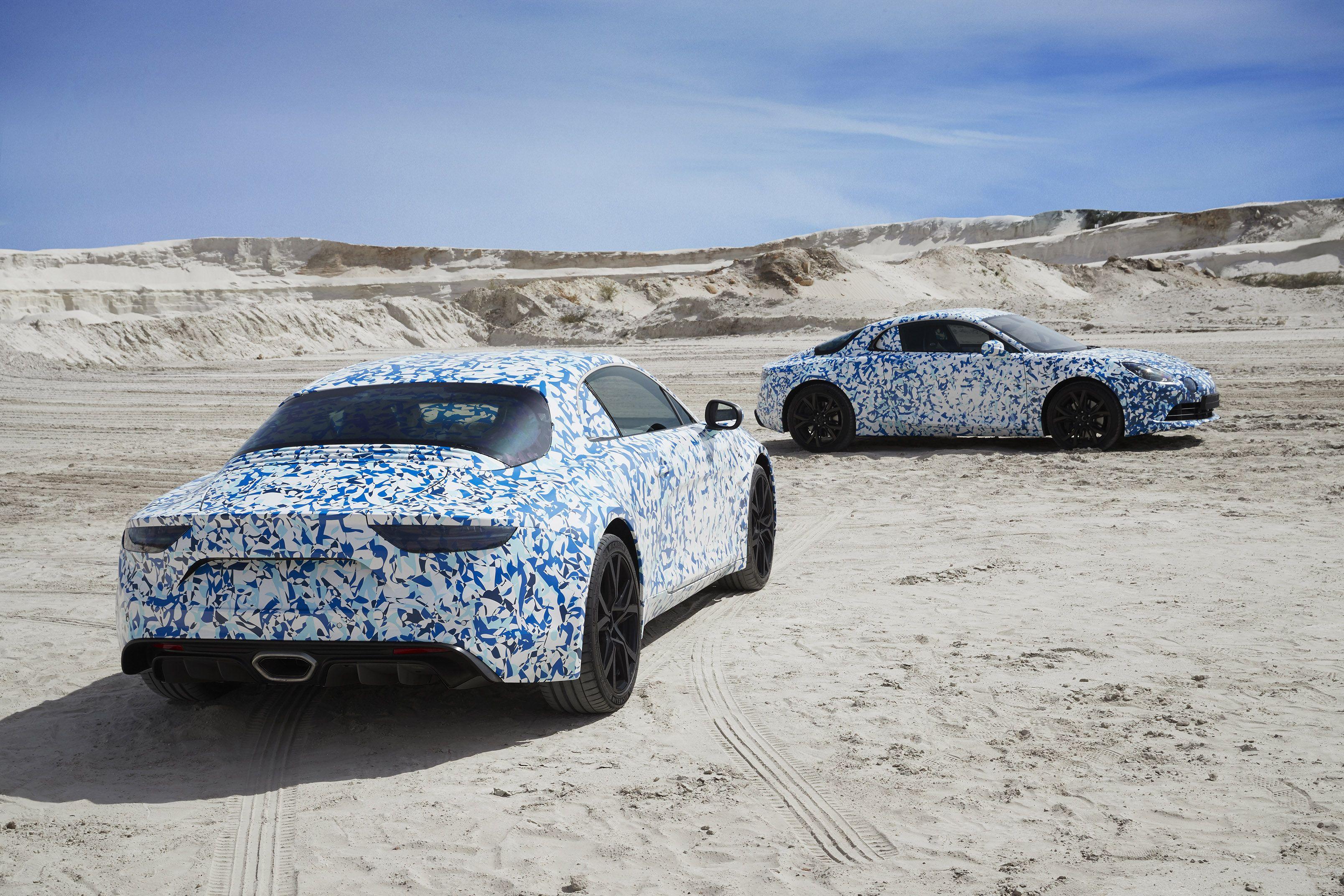 Nog niet onthuld, wel al te bestellen: Renault Alpine Première Edition