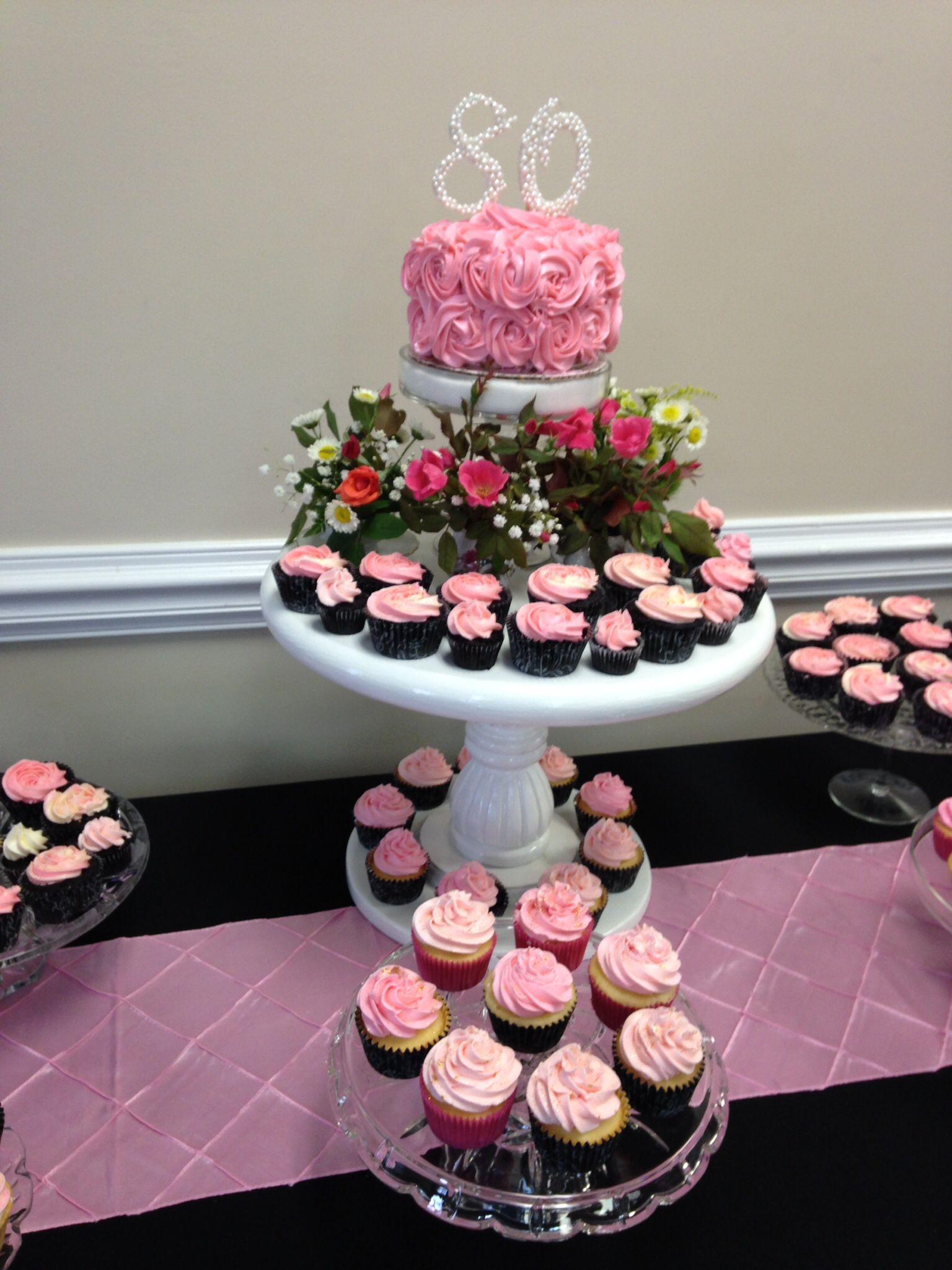 Cupcakes For An Th Birthday Party Parties Cake Celebration Also Cathi Burton Burtoncathi