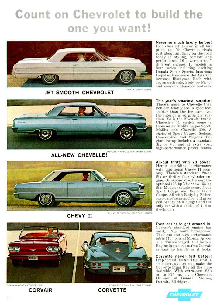 Pin Pa Chevrolet 1964