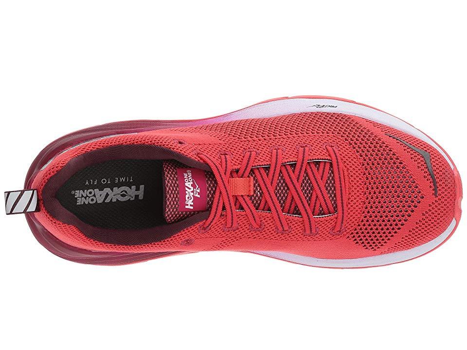 482aa21a065a Hoka One One Mach Women s Running Shoes Hibiscus Cherries Jubilee ...