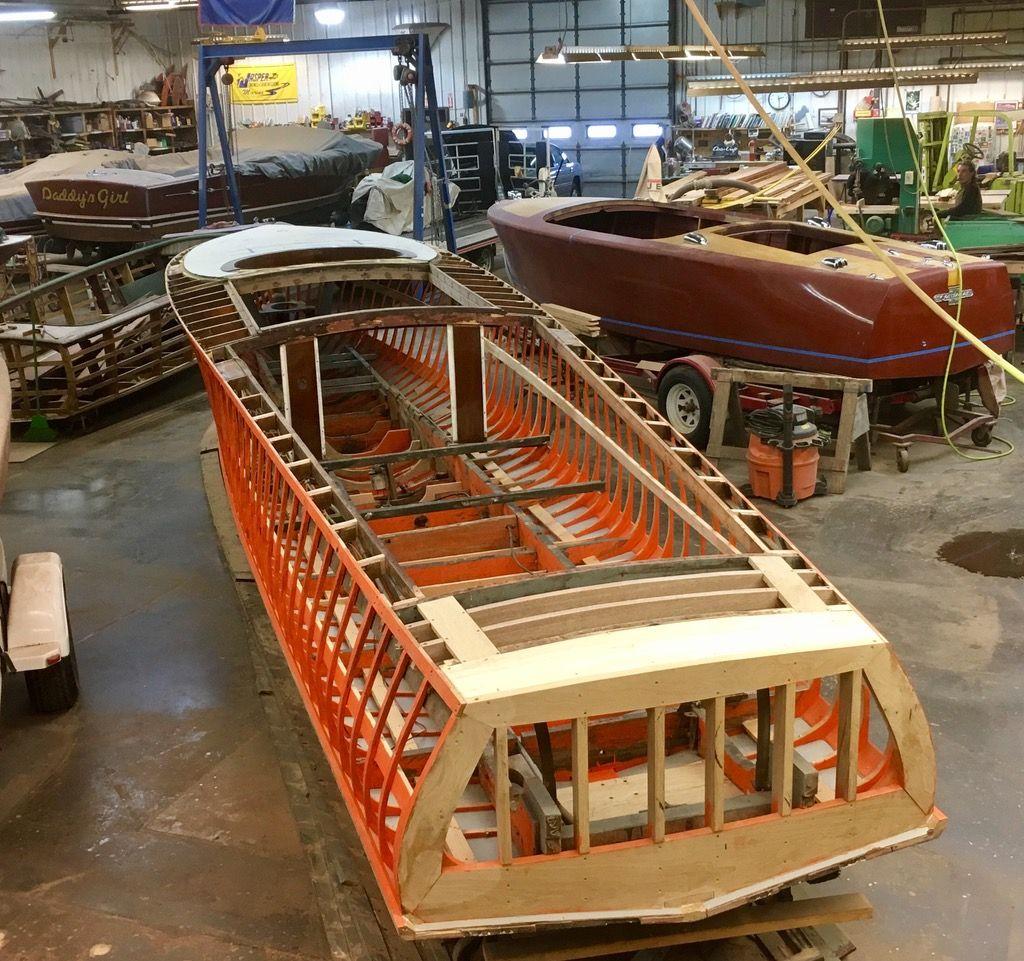 Current Restorations — Sunrise River Boatworks