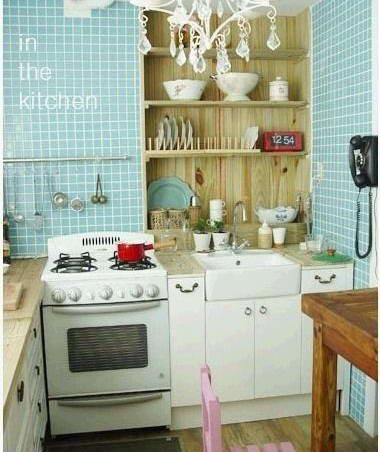 Small Apartment Kitchen Skillfully Perfect Home Decoration Art [Photos .