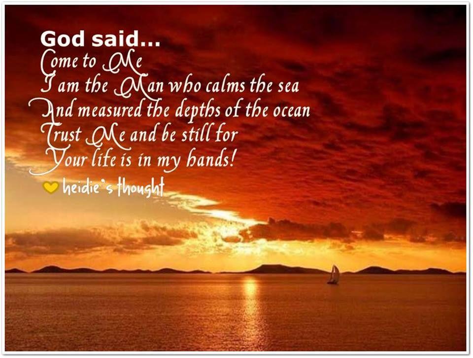 God said souls inspiration faith in god for god so