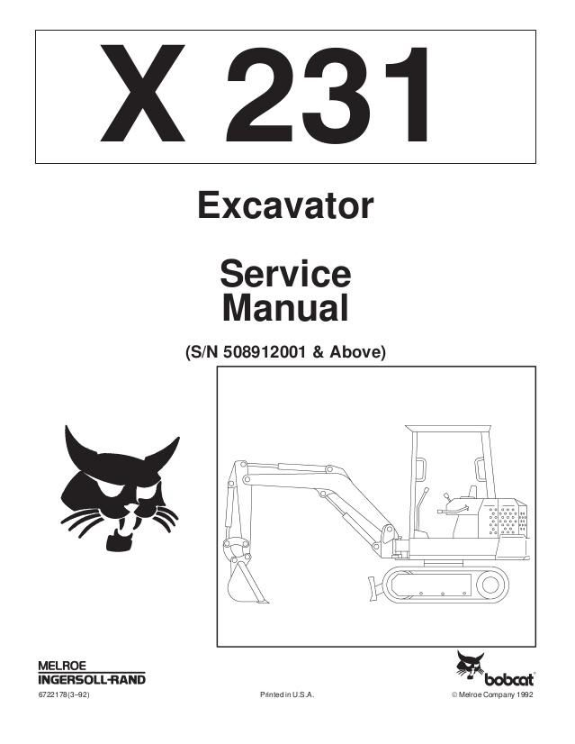 click on the image to download Bobcat X231 Hydraulic