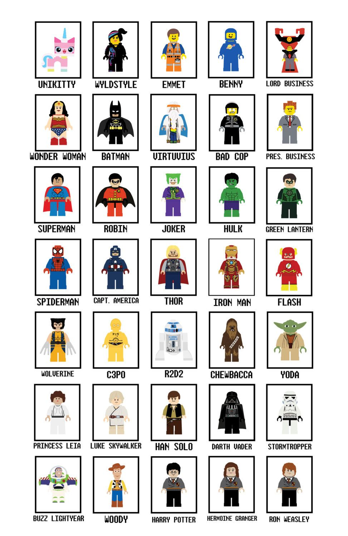 Lego Art Prints Any ONE Art Print