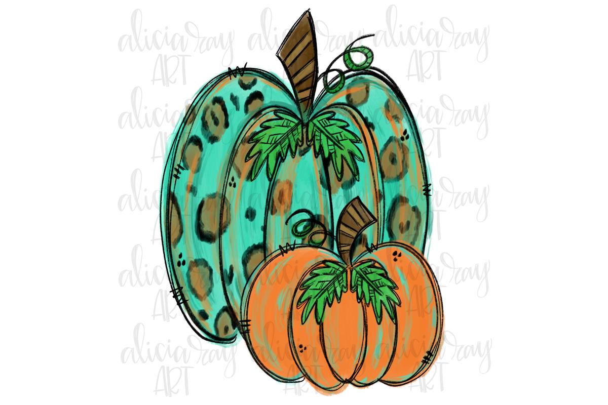 Fall Leopard Pumpkins Sublimation Png Digital Download 282365 Illustrations Design Bundles Pumpkin Art Fall Clip Art Illustration Design