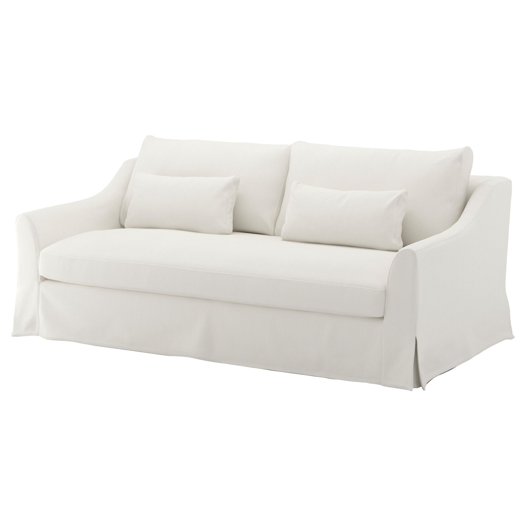 Merveilleux IKEA   FÄRLÖV, Sofa, Flodafors White, , Pocket Springs That Follow Your  Body. The Top Layer Of Fiber Balls And The Soft, Embracing Feeling Makes  The Sofa ...